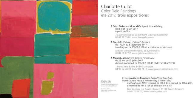 Expositions ete 2017